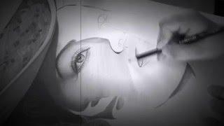 Drawing Ava Gardner