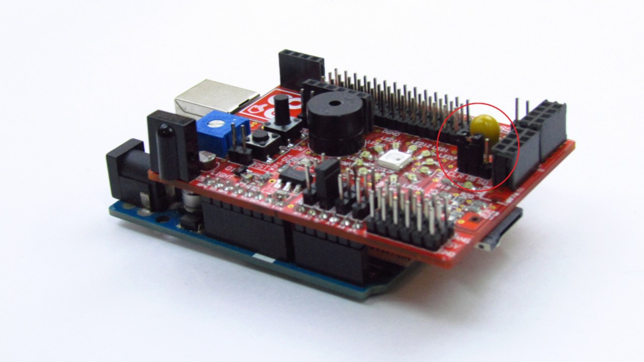 Police Siren Project With The Idiotware Shield Youtube Using Ic 555 Circuit Schematic Diagram