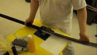 Pu Dao Sharpening (Horse Cutter Blade) on Benchstone