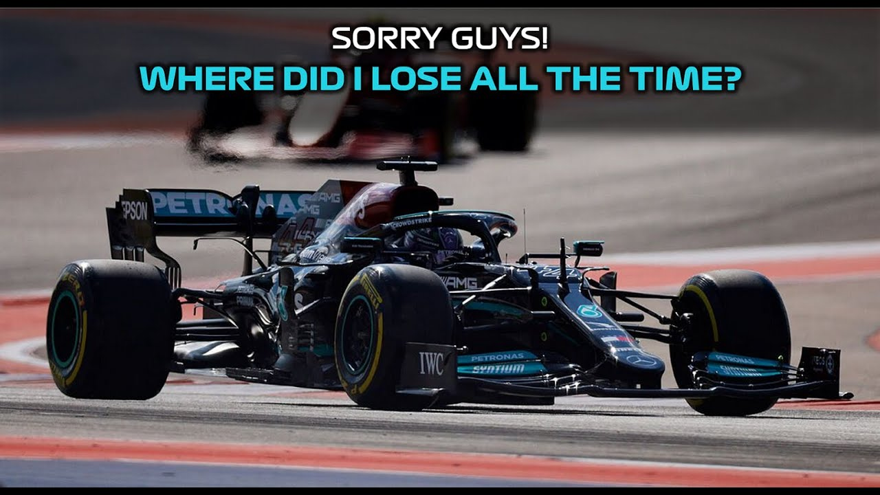 Lewis Hamiltons disappointed team radio after qualifying for the 2021 United States GP