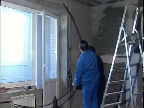 видео: Монтаж электропроводки