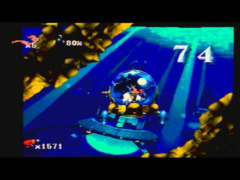 Earthworm Jim: Special Edition - DOWN THE TUBES HD