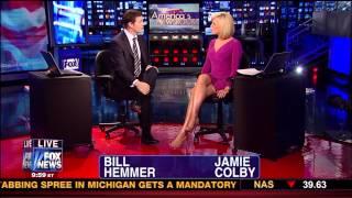 Jamie Colby Tanned Legs 06 25 12