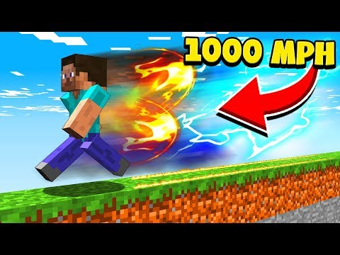 BECOMING THE FASTEST PLAYER IN MINECRAFT!
