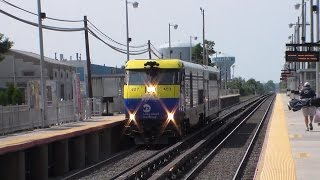 LIRR: Friday Railfanning at Bethpage Featuring #2708, NYAR RS41, Greenport Scoot, & More