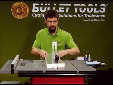 CenterFire Blade Cutting Rigid Foam Insulation