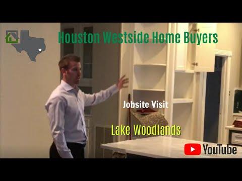 We Buy Houses in the Woodlands - Jobsite Visit - Houston Westside Home Buyers