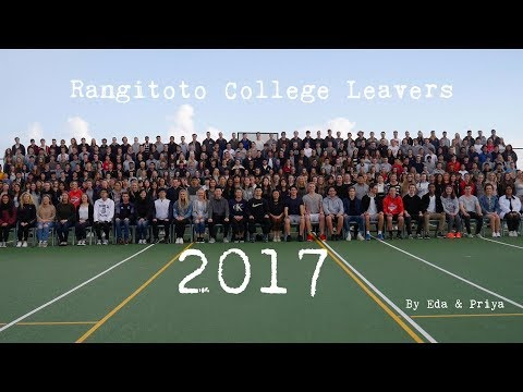 Rangitoto College Leavers 2017