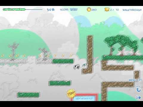 Cowlorful Walkthrough - Levels 1-11 - 100% Coins, 100% Color, All Udders/Items