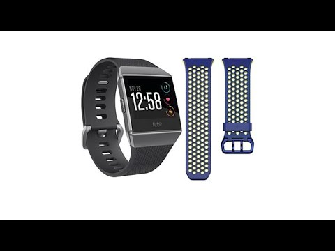Fitbit Ionic Fitness Watch with Classic and Sport Bands