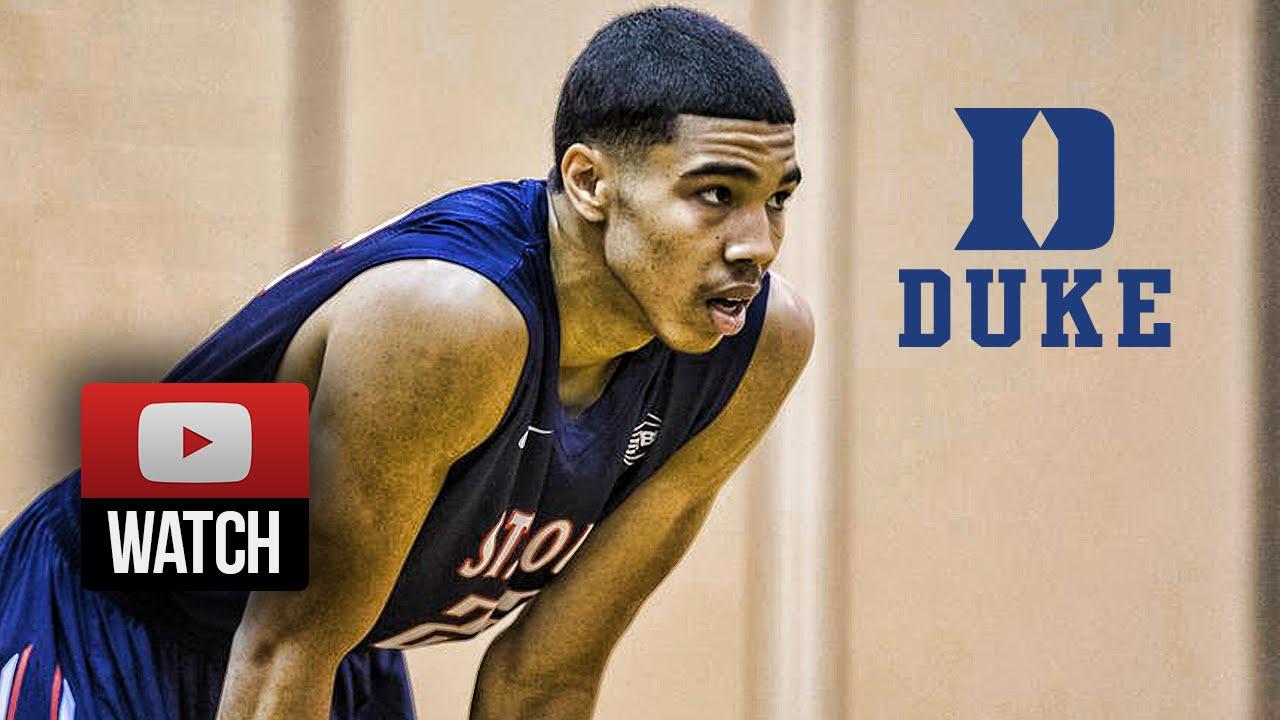 Jayson Tatum Full Highlights vs Team CP3 (2015 Nike EYBL Peach Jam SF) - 28  Pts, Goes to Duke! - YouTube