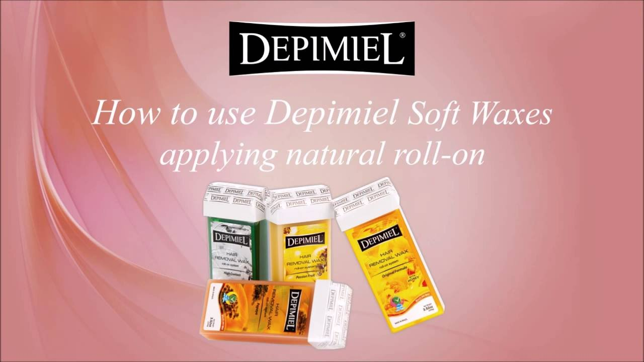 Depimiel Hair Removal Wax Roll-On - Black 3 52 oz