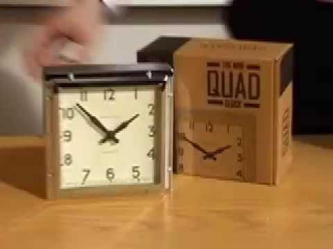 Newgate Mini Quad Alarm Clock From Www Handsandface