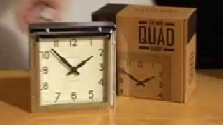 Newgate Mini Quad Alarm Clock From Www.handsandface.com