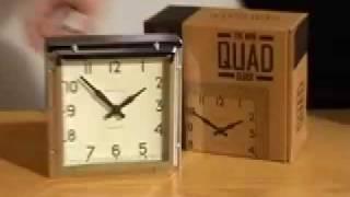 Newgate Mini Quad Alarm Clock From Www.handsandface.com