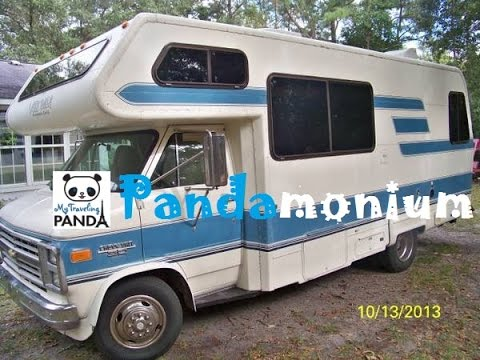 Tour Of My 1989 Lazy Daze Motorhome Before Updates Youtube