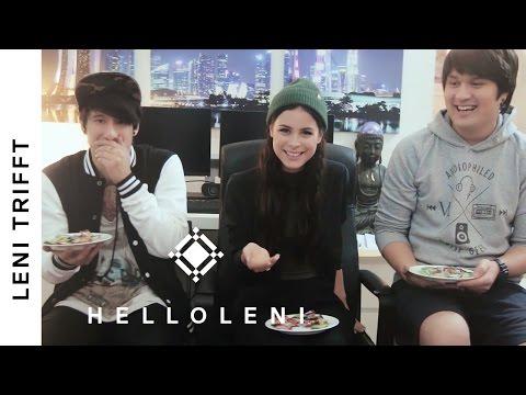 Center Shock Challenge mit Julien Bam und Vince | Leni trifft