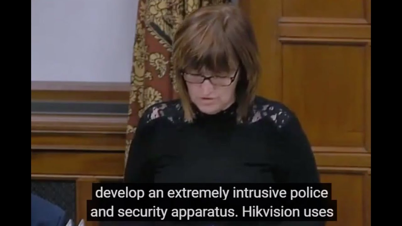 UK MP Calls Out Hikvision Profiting From Human Rights Abuses