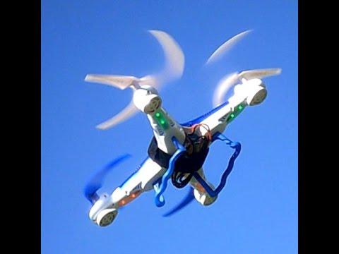 25 MINUTE FLIGHT TIME TOY GRADE QUADCOPTER DRONE MaH MOD