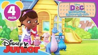 Bronty putzt Zähne - Doc McStuffins | Disney Junior Kurzgeschichten