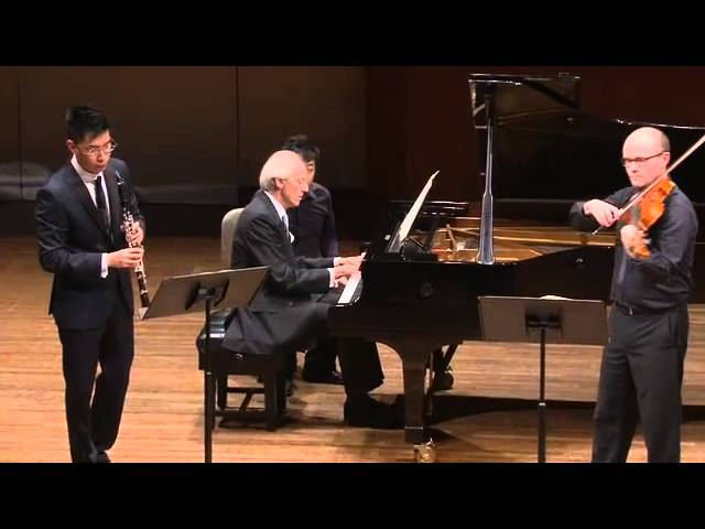Mozart Clarinet trio - 3rd movement: rondos