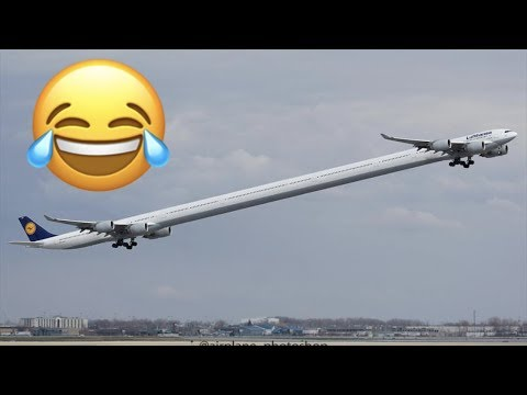 Funniest Plane Photoshops