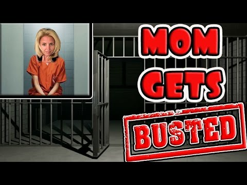 MOM GETS ARRESTED