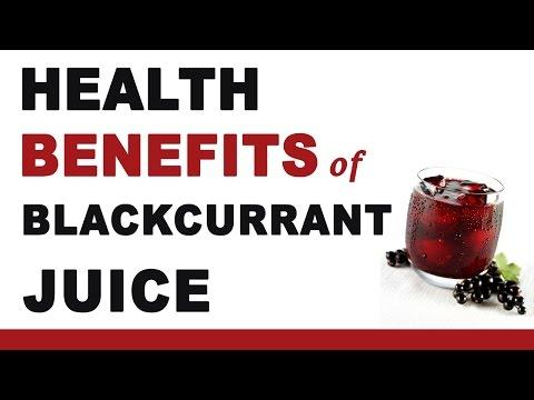 Blackcurrant Juice Health Benefits