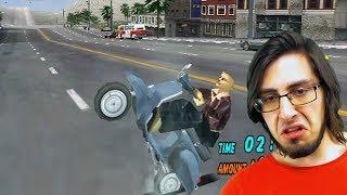 Это что, пародия на Crazy Taxi? Super Runabout: San Francisco Edition на Dreamcast #1