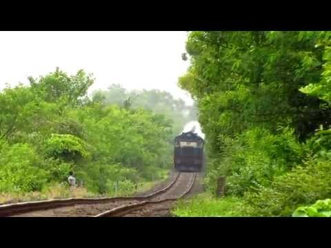 A ride through Western ghats to Capture Trains : Indian railways