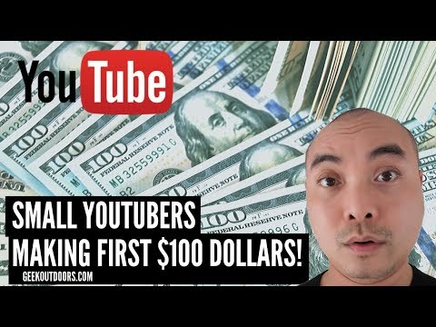 Making First $100 On YouTube and Why It's Life Changing? | Small YouTuber Tips