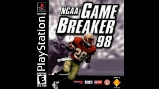 NCAA GameBreaker 98 (PlayStation)