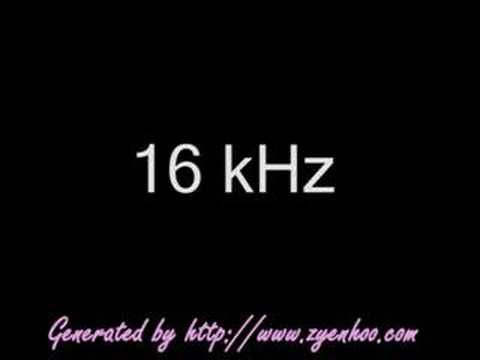 12 to 20 kHz
