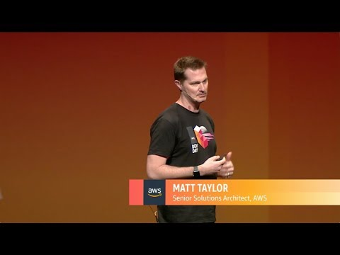 AWS Dev Day Australia 2018 - Developing Smart Contracts With The Ethereum Blockchain On AWS