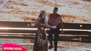Second rehearsal: Edurne (Spain) Eurovision 2015 | wiwibloggs