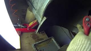 1. Снятие и установка рулевого наконечника Lada kalina