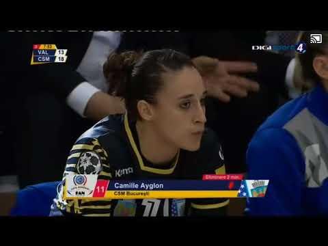 Valcea - CSM Bucuresti second half Fan Courier trophy Final
