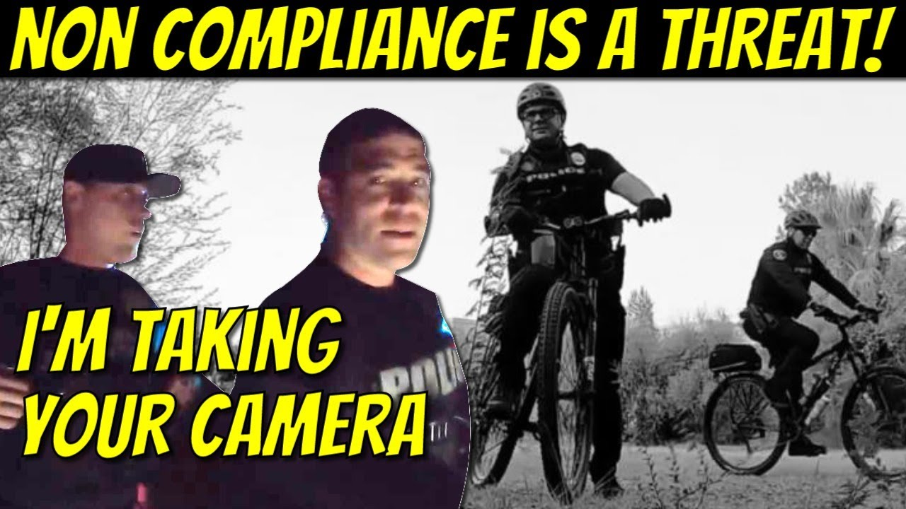 Police State Arizona Edition:  Comply or Cops Use Force - Photographer's Camera Forcibly Taken