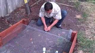 Part 5 Of 7 How To Build A Raised Bed Garden: Sides, Gophers Protection, Sheet Mulch And Filling