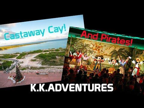 Castaway Cay and Pirates!! | Disney Dream | Disney Cruise Line