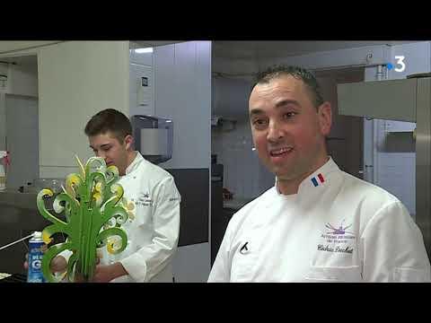 Le meilleur apprenti de France en pâtisserie est de Bourgogne ! - - France 3 Bourgogne-Franche-Comté