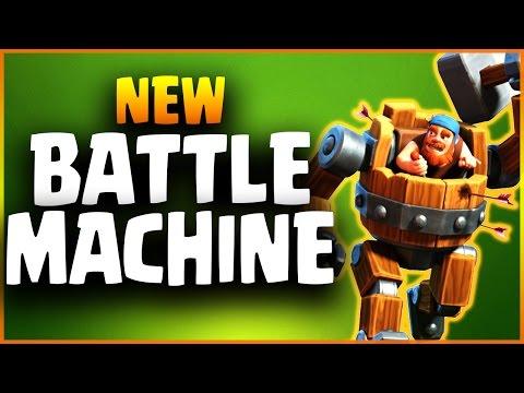 Official BATTLE MACHINE Spotlight NEW HERO | Builder Base Boat Update | Clash of Clans