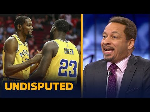 Chris Broussard thinks KD and Draymond's relationship will never be the same | NBA | UNDISPUTED