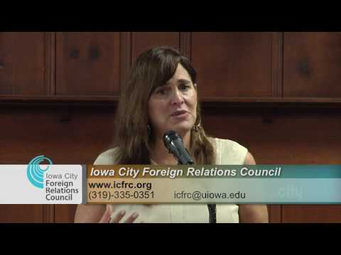 Iowa City Foreign Relations Council Presents: The Human Face of the Middle East Refugee Crisis