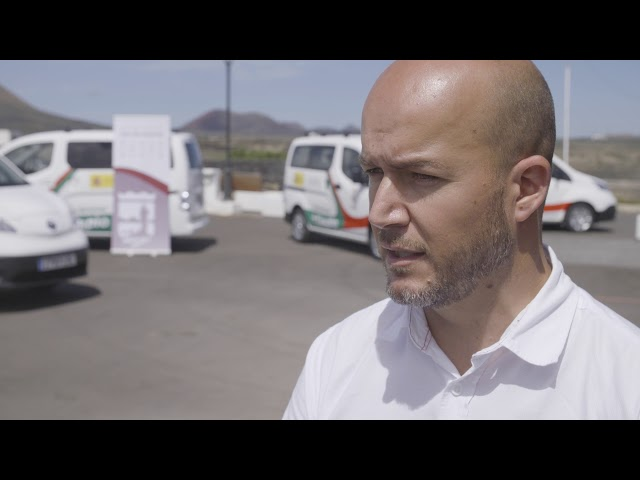 Presentación flota de vehículos eléctricos