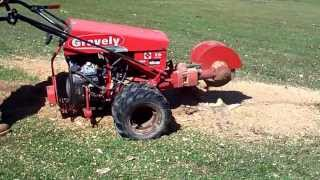 Gravely Two Wheel Tractor Stump Grinder Attachment Part