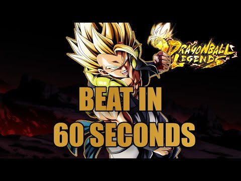 HOW TO BEAT COOP GOGETA IN 60 SECONDS!! | Dragonball Legends