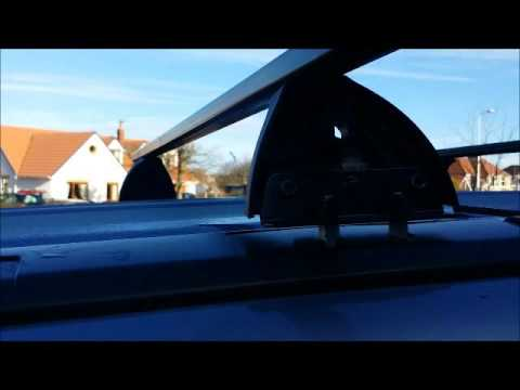 How to fit a roof rack to a Honda CRV 2008 - Exodus FP3, F042