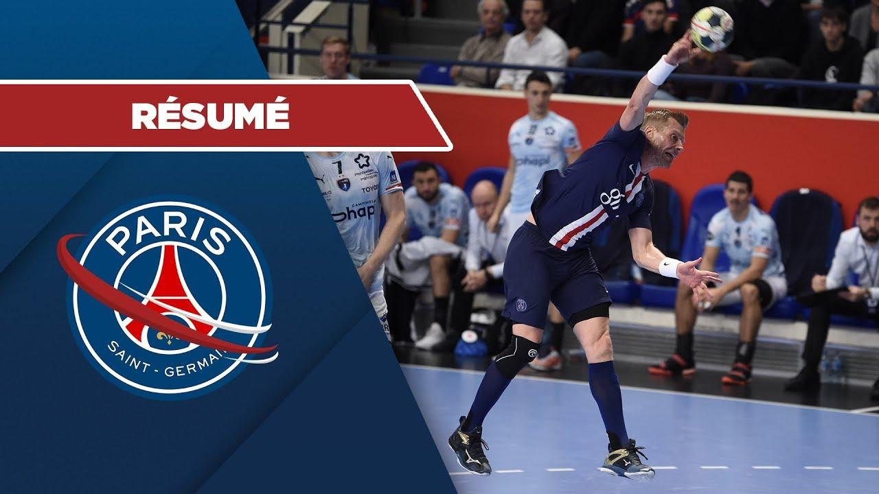 le r u00e9sum u00e9   psg handball - montpellier