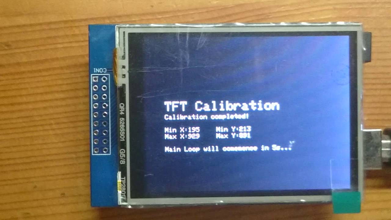 2 8″ TFT LCD Touchscreen Shield – Cyan Infinite